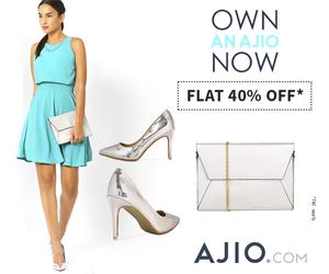 Ajio Clothing Promo code