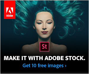 Make it with Adobe stock