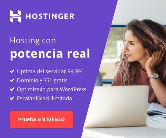 Hostinger servicio de hosting y dominio