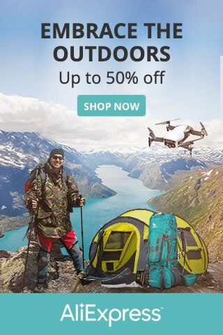 Aliexpress - outdoors