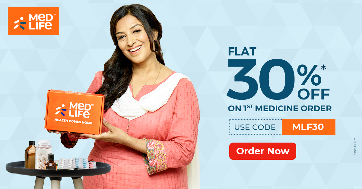 Get up to 65% off on medicines medlife