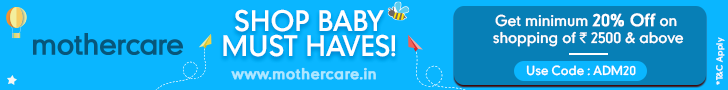 mothercare.in Banner